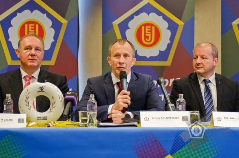 Пресс-конференция в Будапеште