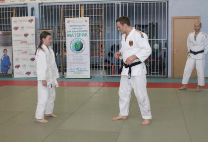 Семинар-тренировка с олимпийским чемпионом Оле Бишофом.