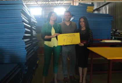 Оле Бишоф посетил производство «МАТЕРИКа»